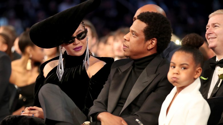 Beyonce, Jay-Z and Blue Ivy