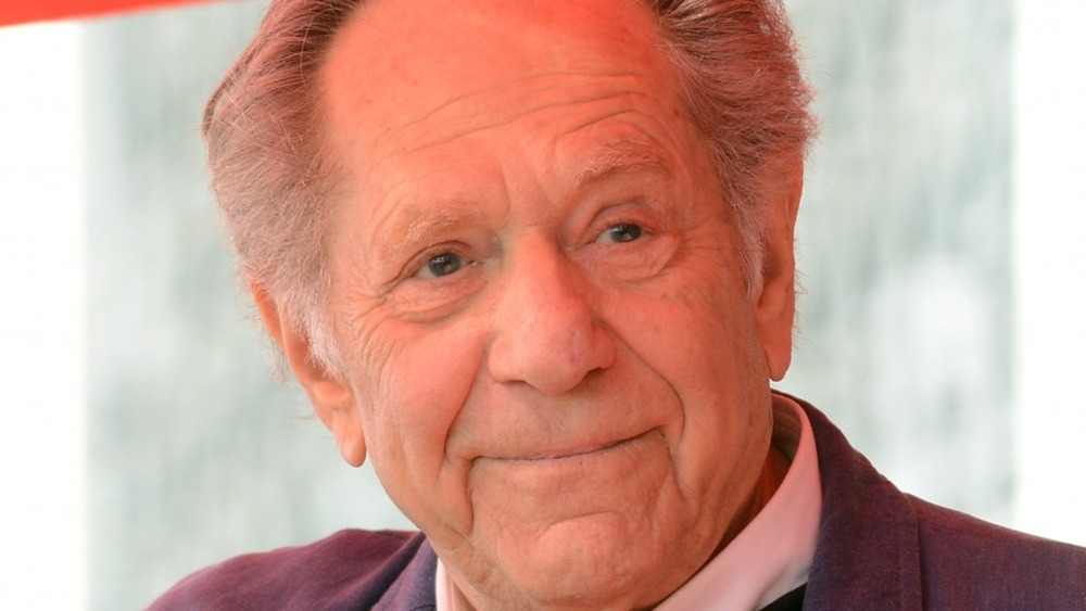 Actor George Segal is honored with a star on The Hollywood Walk Of Fame