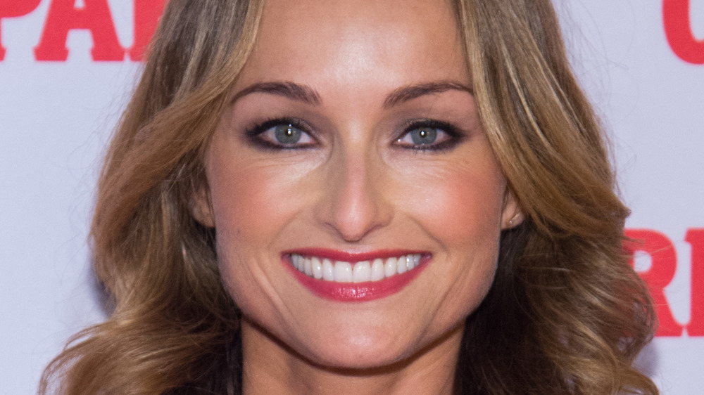 Giada De Laurentiis smiling at an event