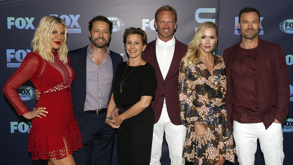 Here's how much the cast of BH90210 is really worth