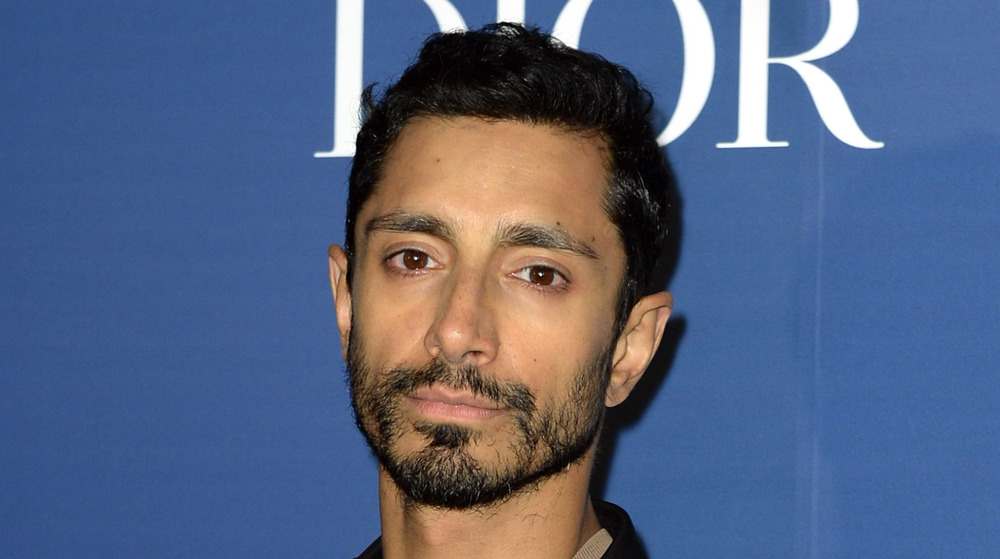 Riz Ahmed attends an event