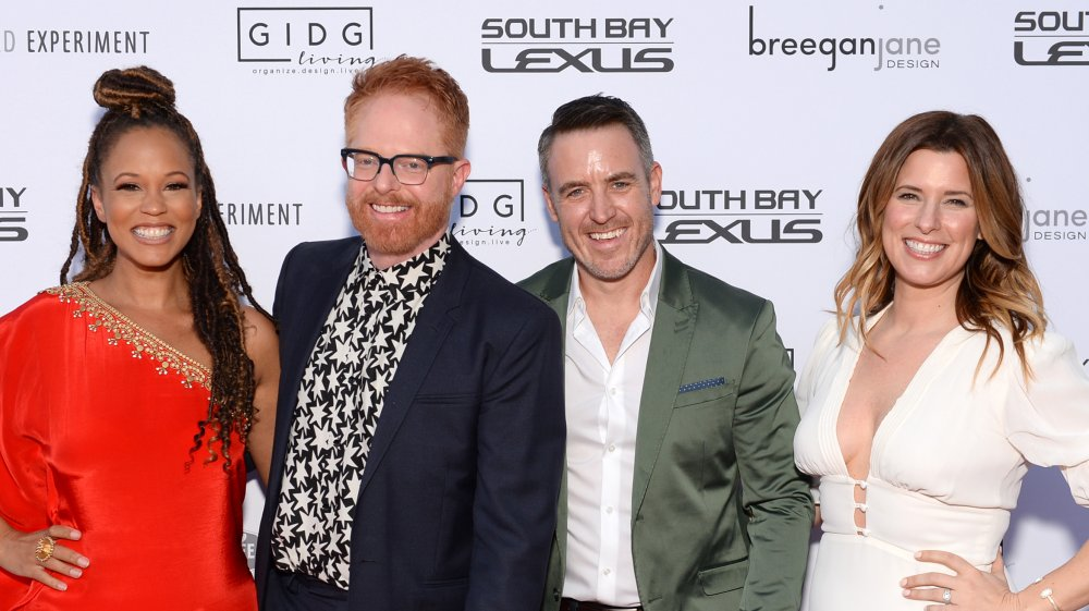 Breegan Jane, Jesse Tyler Ferguson, Darren Keefe, and Carrie Locklyn