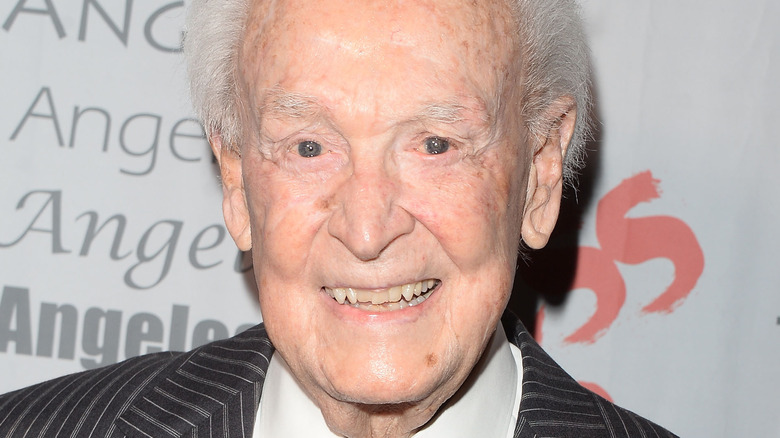 Bob Barker smiling at an event