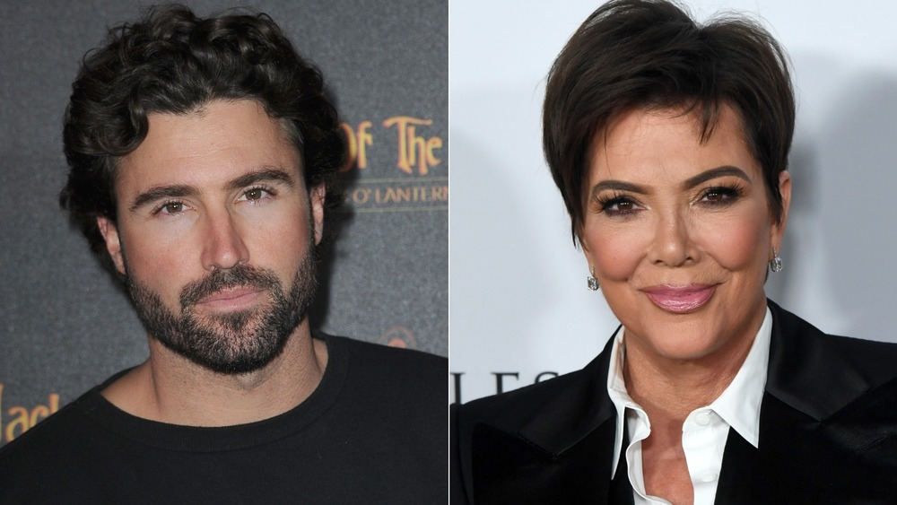 Brody and Kris Jenner