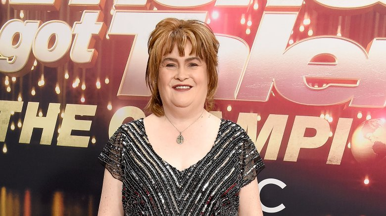Singer and reality star Susan Boyle