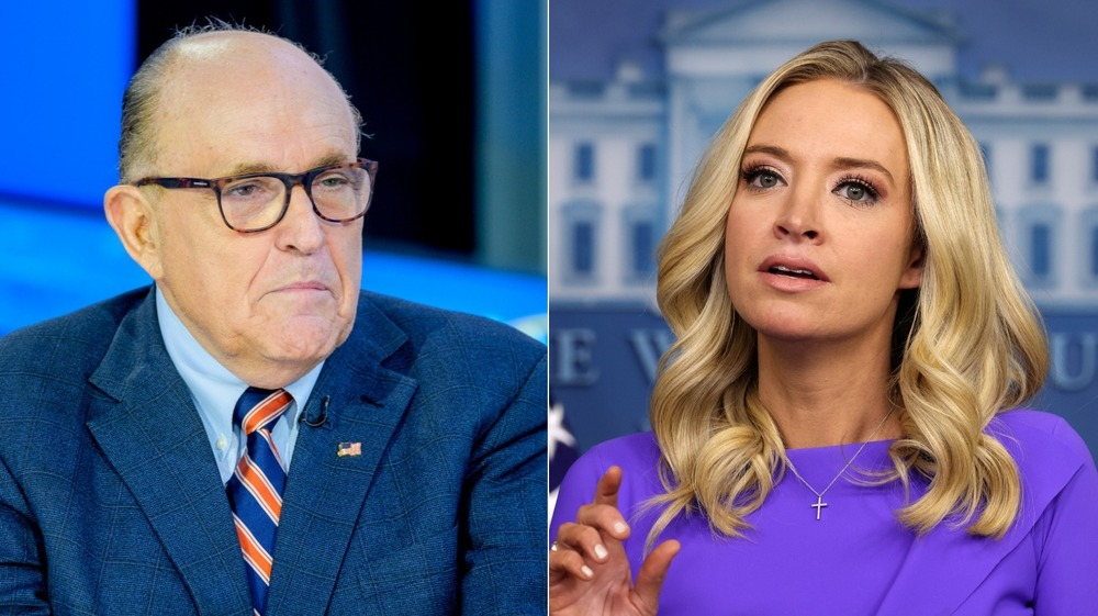 How Rudy Giuliani Just Fell For A Fake Kayleigh McEnany Tweet