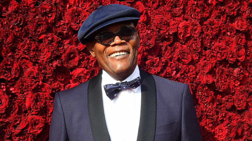 Samuel L. Jackson on the red carpet