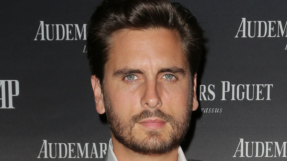 Scott Disick red carpet
