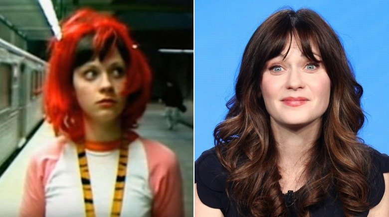 Zooey Deschanel in an Offspring music video