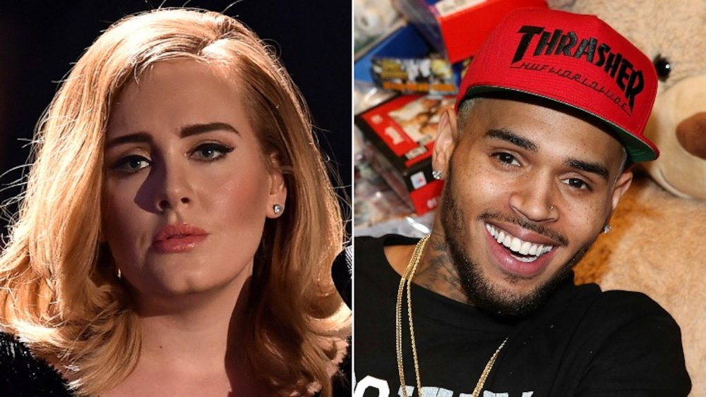 Inside Adele And Chris Brown S Unlikely Friendship