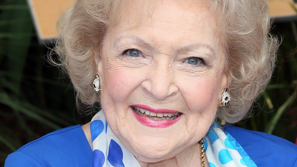 Betty White smiling