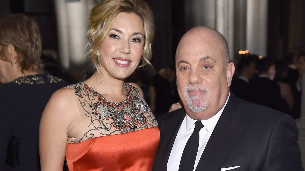 Alexis Roderick and Billy Joel smiling together