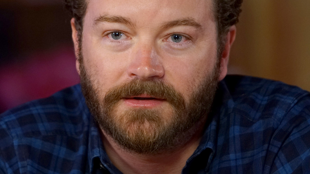 Danny Masterson looking stern