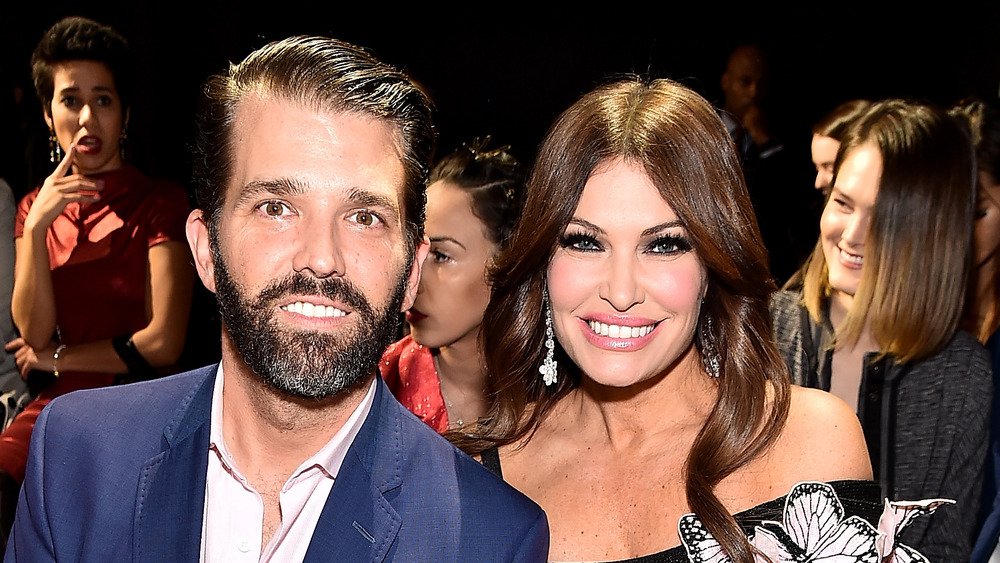Donald Trump Jr. and girlfriend Kimberly Guilfoyle