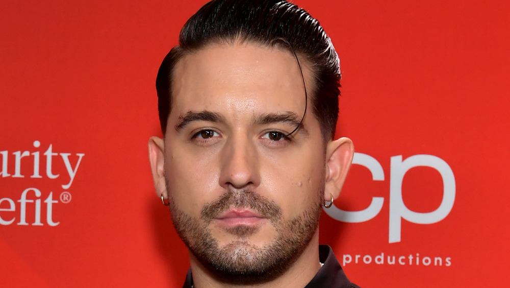 G-Eazy posing on the red carpet