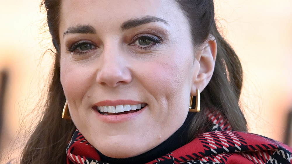 Kate Middleton smiling at a royal event