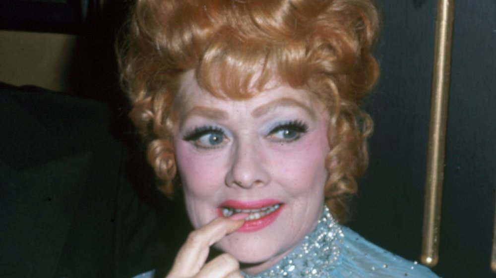Lucille Ball at the Eisenhower Memorial Hospital Benefit Ball in 1971