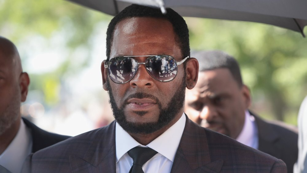 R. Kelly at the Leighton Criminal Courts Building in 2019