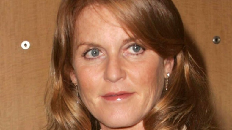 Sarah Ferguson at a K&G Creations jewelry launch in 2006