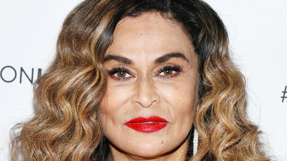 Tina Knowles smiling