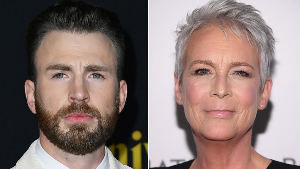 Chris Evans, Jamie Lee Curtis