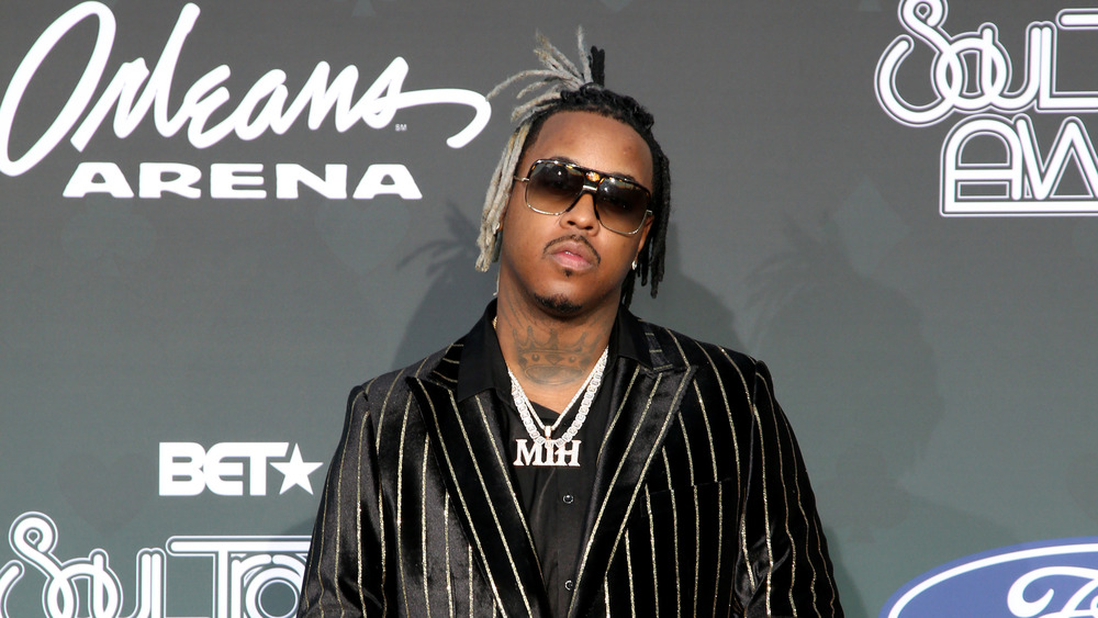 Jeremih on red carpet