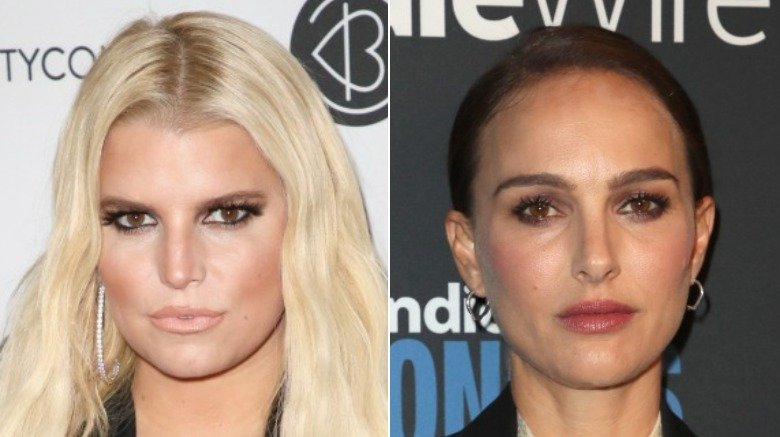 Jessica Simpson and Natalie Portman