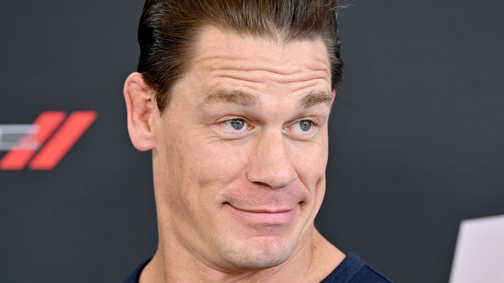 "John Cena attending ""The Road to F9"" in 2020"