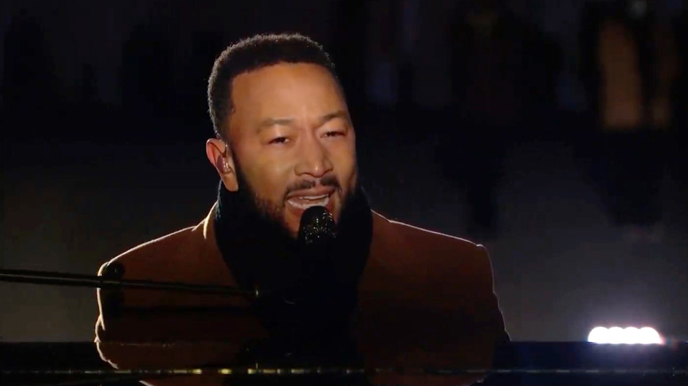 John Legend singing