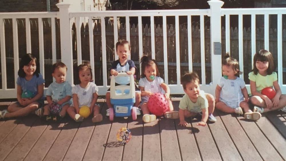 The Gosselin kids as babies and toddlers
