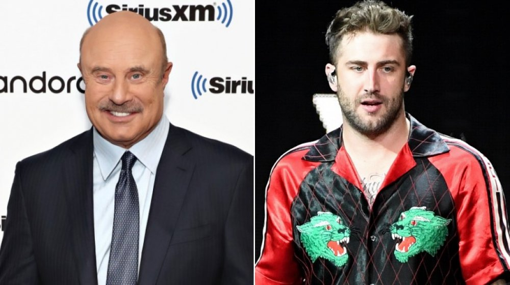 Dr. Phil's & his son Jordan McGraw