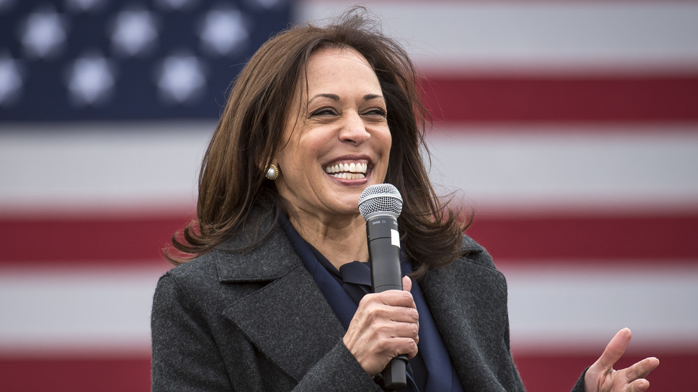 Kamala Harris campaigning for the 2020 presidential election