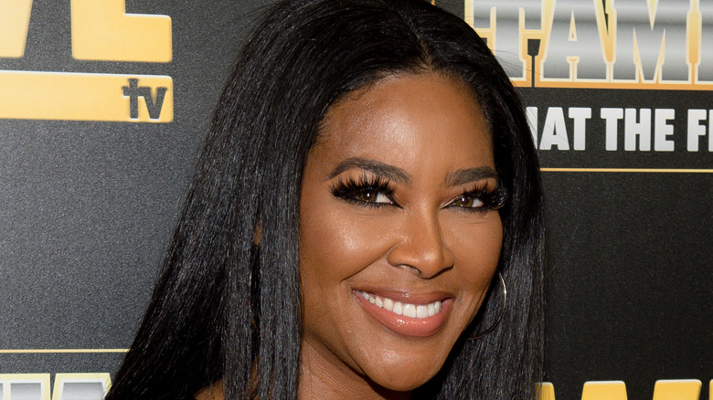 """Kenya Moore attends the WE tv """"Waka & Tammy: What The Flocka"""" premiere event"""