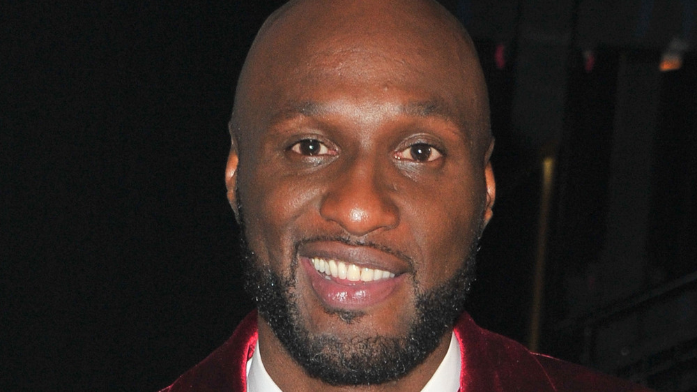 """Lamar Odom attends the """"Dancing With The Stars"""" Season 28 show"""