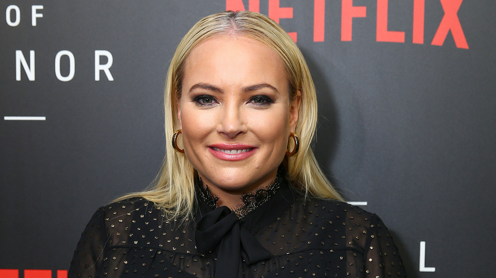 Meghan McCain on the red carpet