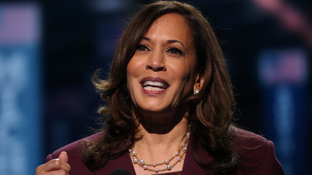 Kamala Harris pearls