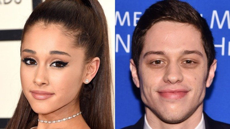 Ariana Grande and Pete Davidson