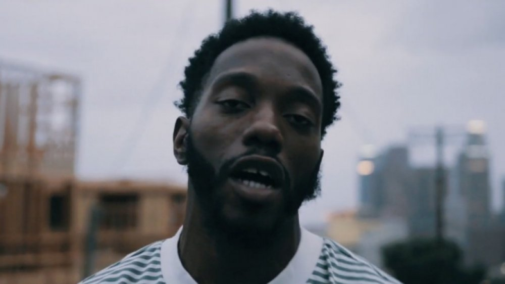Dee Dave in a screenshot from a music video