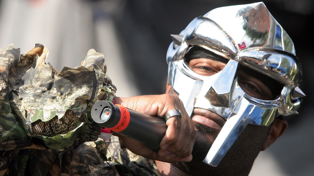 MF Doom performing at the 2009 Pitchfork Music Festival