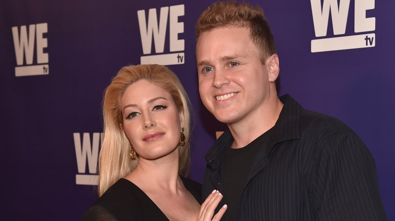 Spencer Pratt and Heidi Montag from MTV's 'The Hills'
