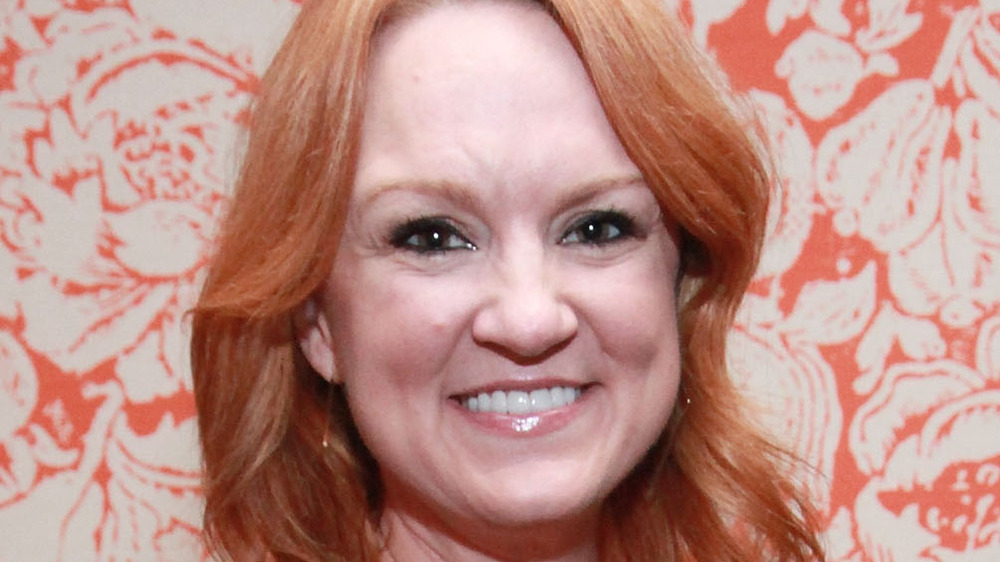 Ree Drummond smiling angled