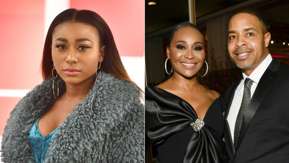 Noelle Robinson, Cynthia Bailey and mIKE hILL