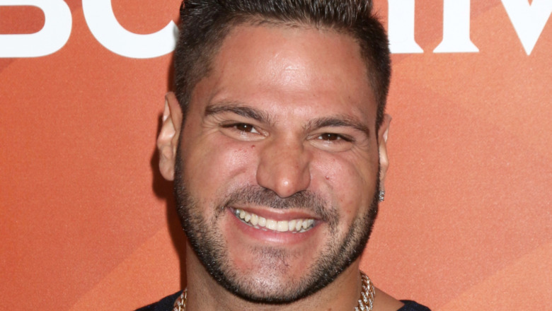 Ronnie Magro at event