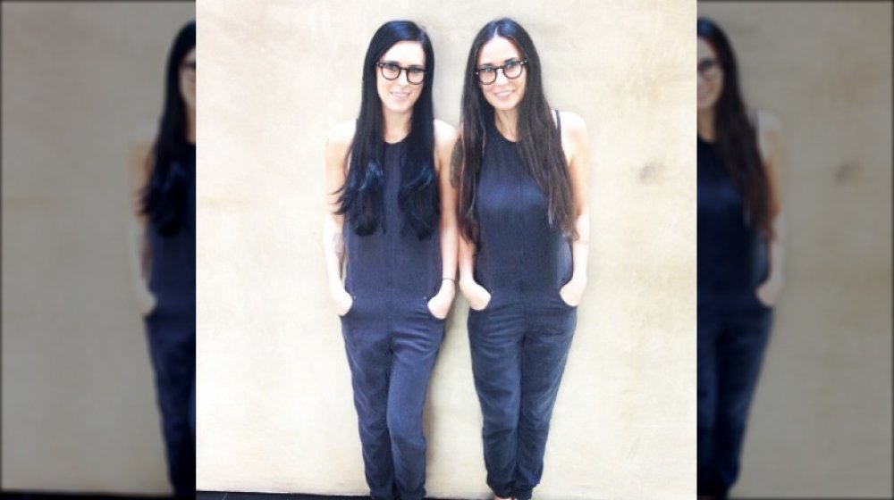 Rumer Willis is the spitting image of Demi Moore