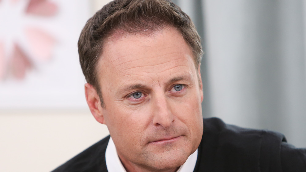 Chris Harrison looking serious