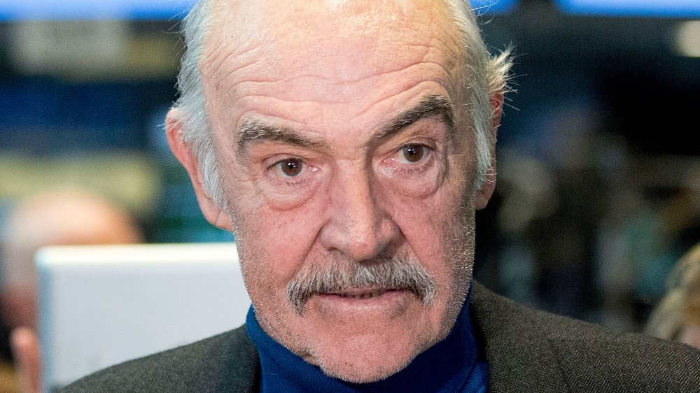 Sir Sean Connery visits the NY Stock Exchange in 2012