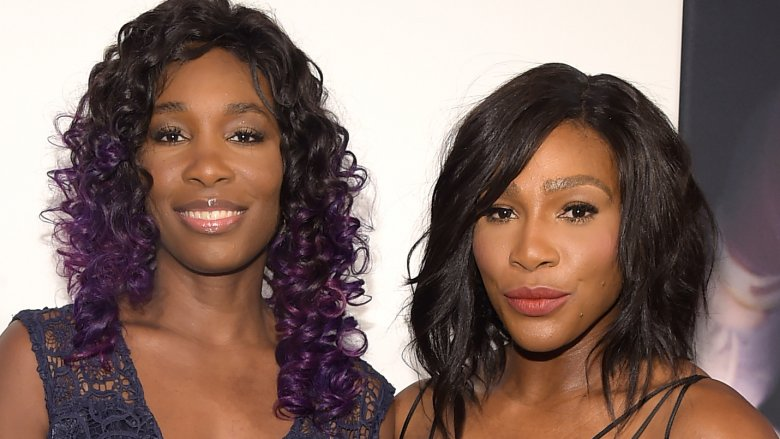 Tennis stars Serena and Venus Williams