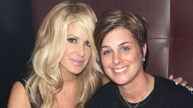 Kim Zolciak and Tracy Young