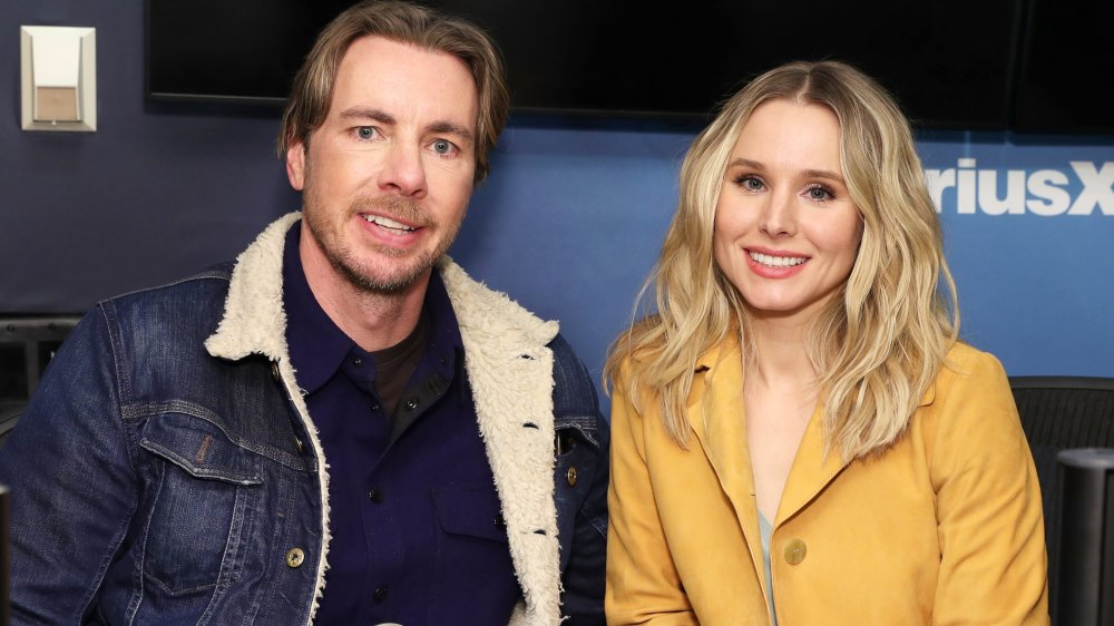 Dax Shepard and Kristen Bell at SiriusXM radio show