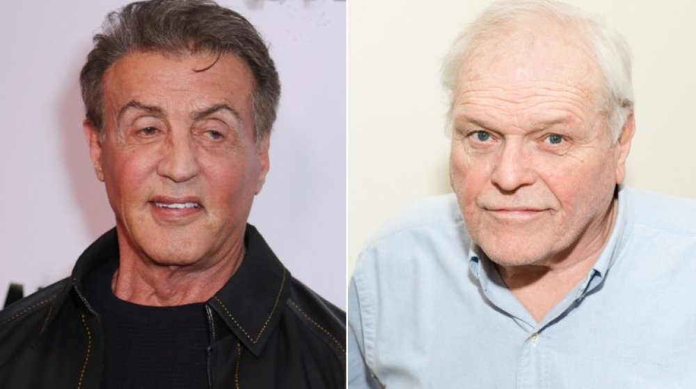 Sylvester Stallone and Brian Dennehy
